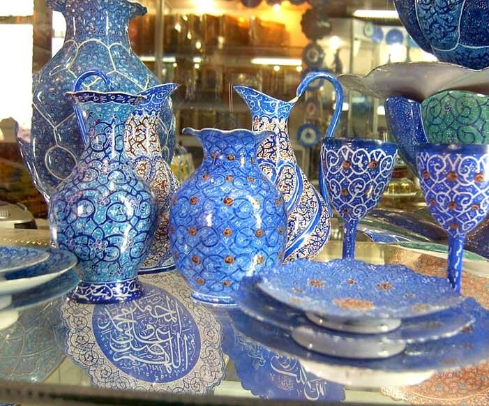 Isfahan handicrafts