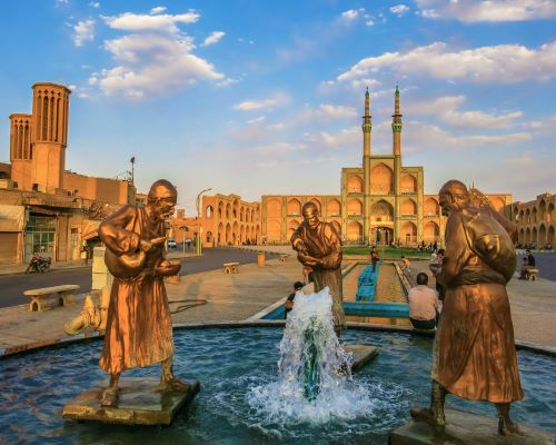 Highlights of Persia,From city to desert