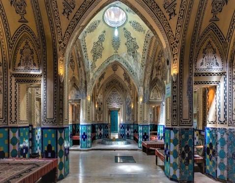 Kashan Sultan Amir Ahmad Bath house