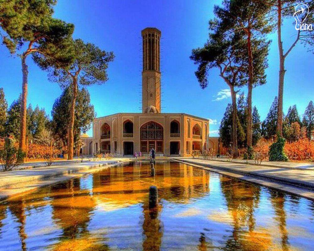 Yazd Dowlat abad garden