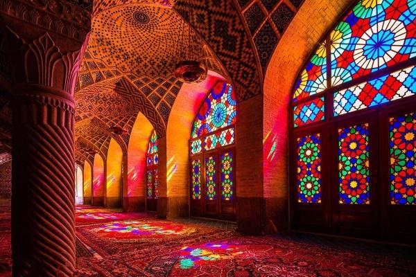 Shiraz Nasir al mulk mosque