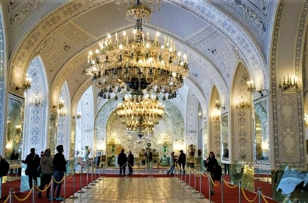 Tehran Golestan palace