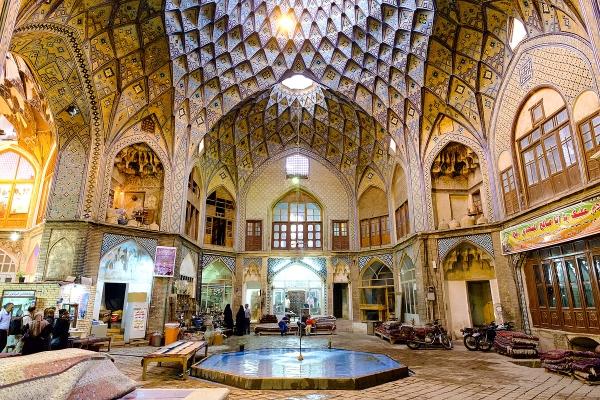 Kashan bazar
